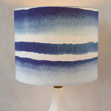 Cool Cobalt Drum Lampshades