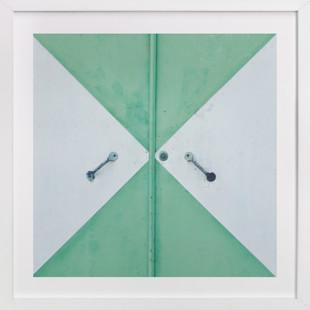 Green Door Domino Non-custom Art...