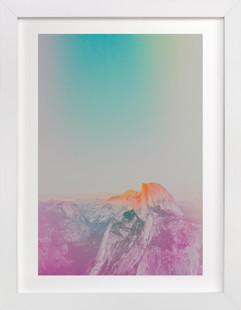 Phosphorescent V Domino Non-custom Art Print