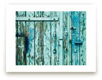 Rusty Door by Alexandra Feo