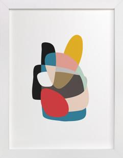 Up Down and Back Around Domino Non-custom Art Print