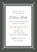 Lattice Graduation Online Invitations