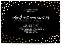 Starlight Foil-Pressed Direction Cards
