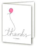 Birthday Balloon Adult Birthday Party Thank You Cards