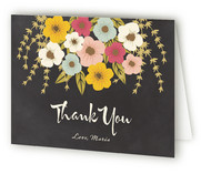 Plentiful Blossoms Adult Birthday Party Thank You Cards