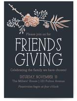 Friendsgiving Floral by RedRedOrange