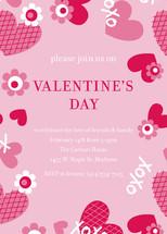 XOXO Valentine's Day Online Invitations