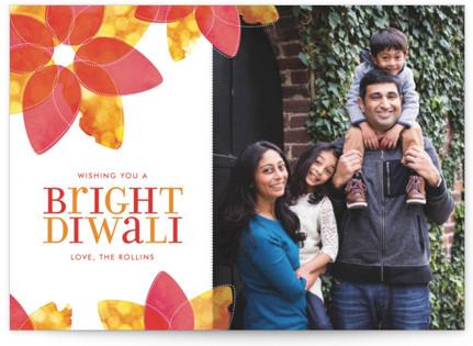 Lotus of Lights Diwali Cards