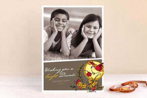 Bright Sunrise Diwali Cards