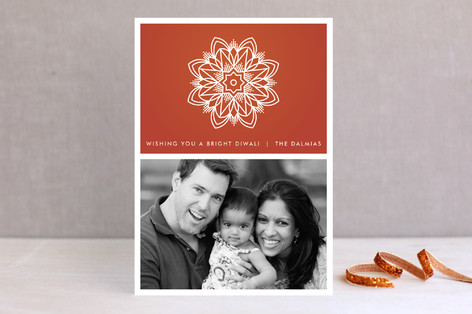 Star Rangoli Diwali Cards