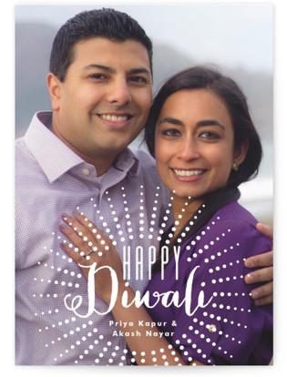 Happy Diwali Bursts Diwali Cards