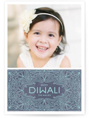 Lotus Pond Diwali Cards