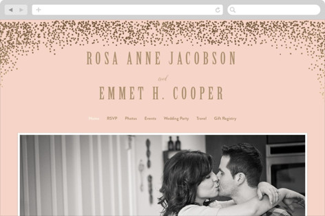 Bubbly Wedding Websites