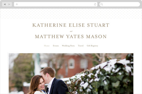 A Glamorous Affair Wedding Websites
