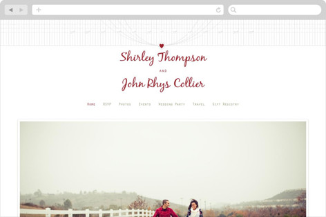 A Faraway Destination Wedding Websites