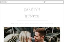 Horizon Line Wedding Websites