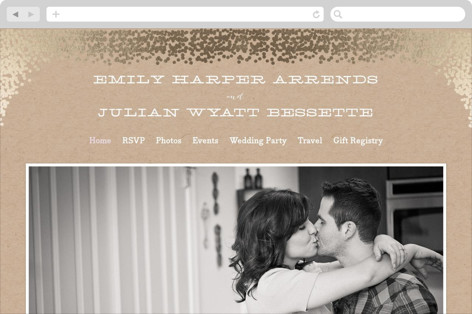 Gold Rush Wedding Websites