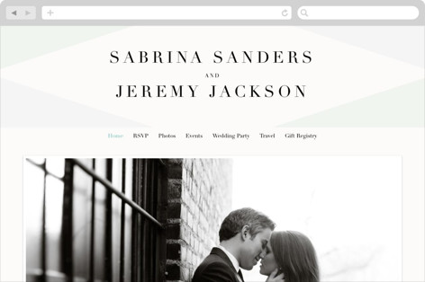 Creme Brulee Wedding Websites