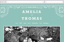 Fiesta Folk Art Wedding Websites