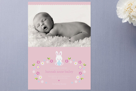 Bunny Baby Easter Cards