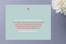 just married Enclosure Cards