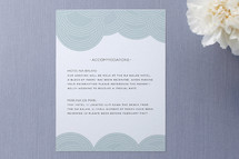 Pearls on a String Enclosure Cards