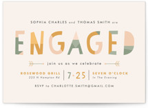 Sedona Engagement Party Invitations