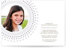 Joyful Bursts First Communion Invitations