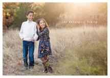 Happy Heart Foil-pressed Postcard