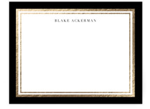 Gold Notes Foil-Pressed Stationery