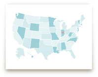 Polka Dotted States of America