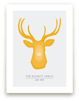 Deer Head by Mariel Schmitt