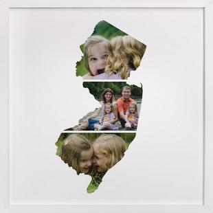 New Jersey Love Location Custom Photo Art Print