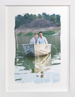 Paint me happy Custom Photo Art Print