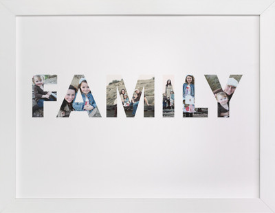 Where Life Begins Custom Photo Art Print