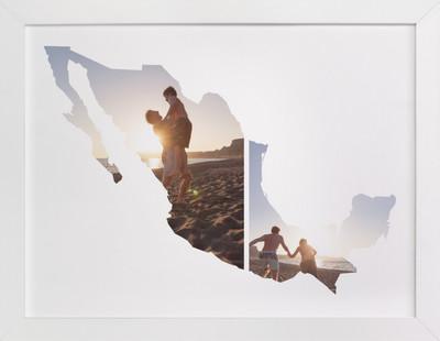 Mexico Love Location Custom Photo Art Print