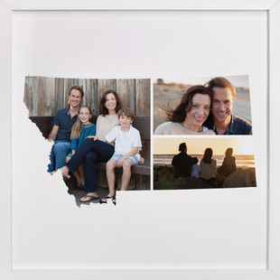 Montana Love Location Custom Photo Art Print