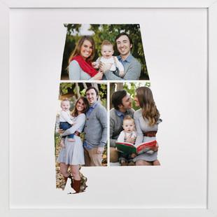Alabama Love Location Custom Photo Art Print