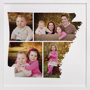 Arkansas Love Location Custom Photo Art Print