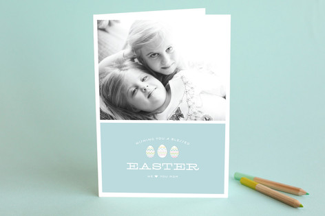 Easter Eggs Easter Greeting Cards