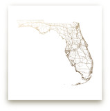 Florida Map by GeekInk Design