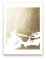 Juneau Map by Laura Condouris