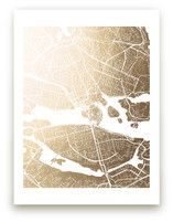 Stockholm Map by Laura Condouris