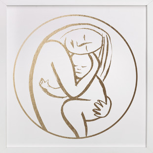 Every Mother Counts Foil-Pressed Art Print