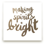 Making Spirits Bright by Pistols