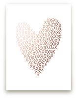 Hugs And Kisses Heart by Hooray Creative