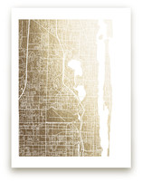 West Palm Beach Map by Griffinbell Paper Co.
