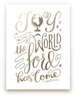 Joy to the World by Griffinbell Paper Co.