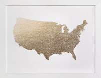 United States Map Filled