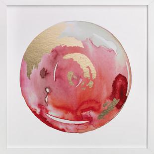 King Midas + Reds Foil-Pressed Art Print